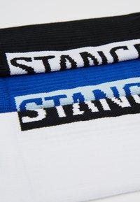 Stance - 3 PACK - Ponožky - black/white/blue - 2
