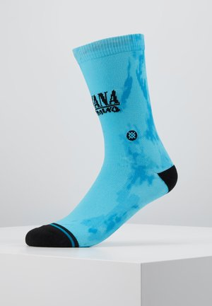 NIRVANA NEVERMIND - Socks - blue