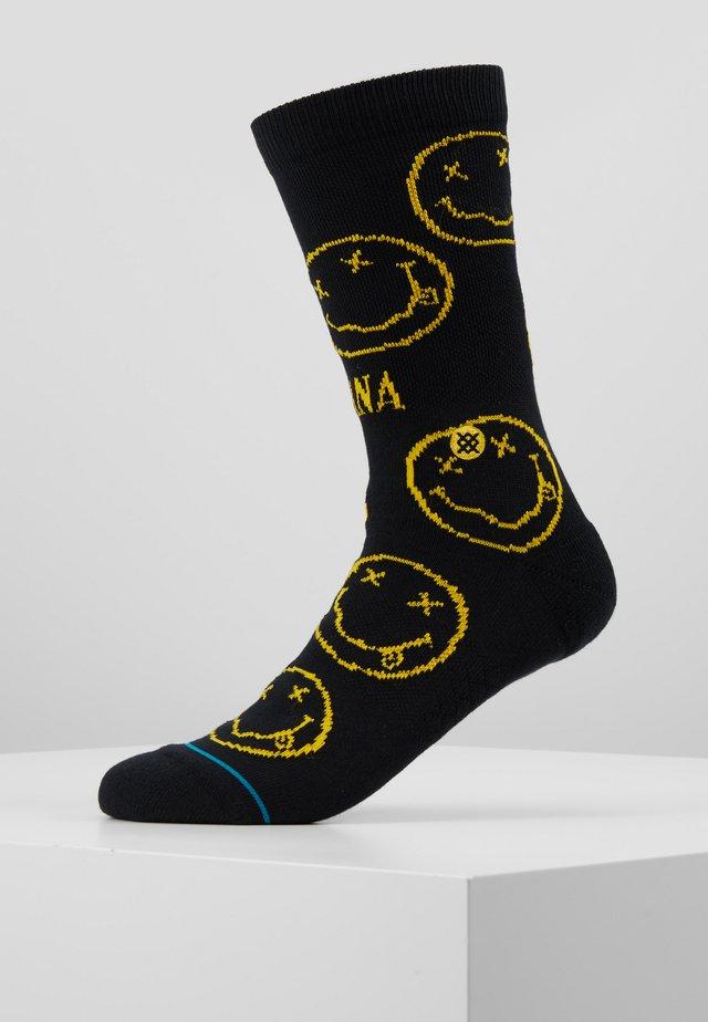 NIRVANA FACE - Socken - black