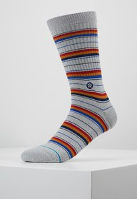 Stance - FRANKLIN - Calcetines - grey/yellow/red - 0