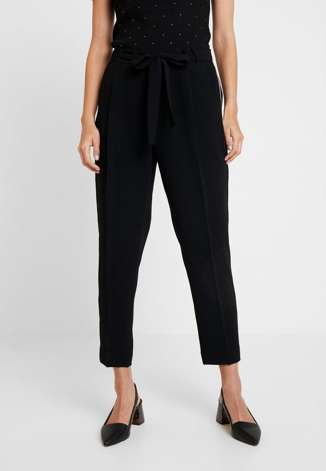 Spodnie materiałowe - black