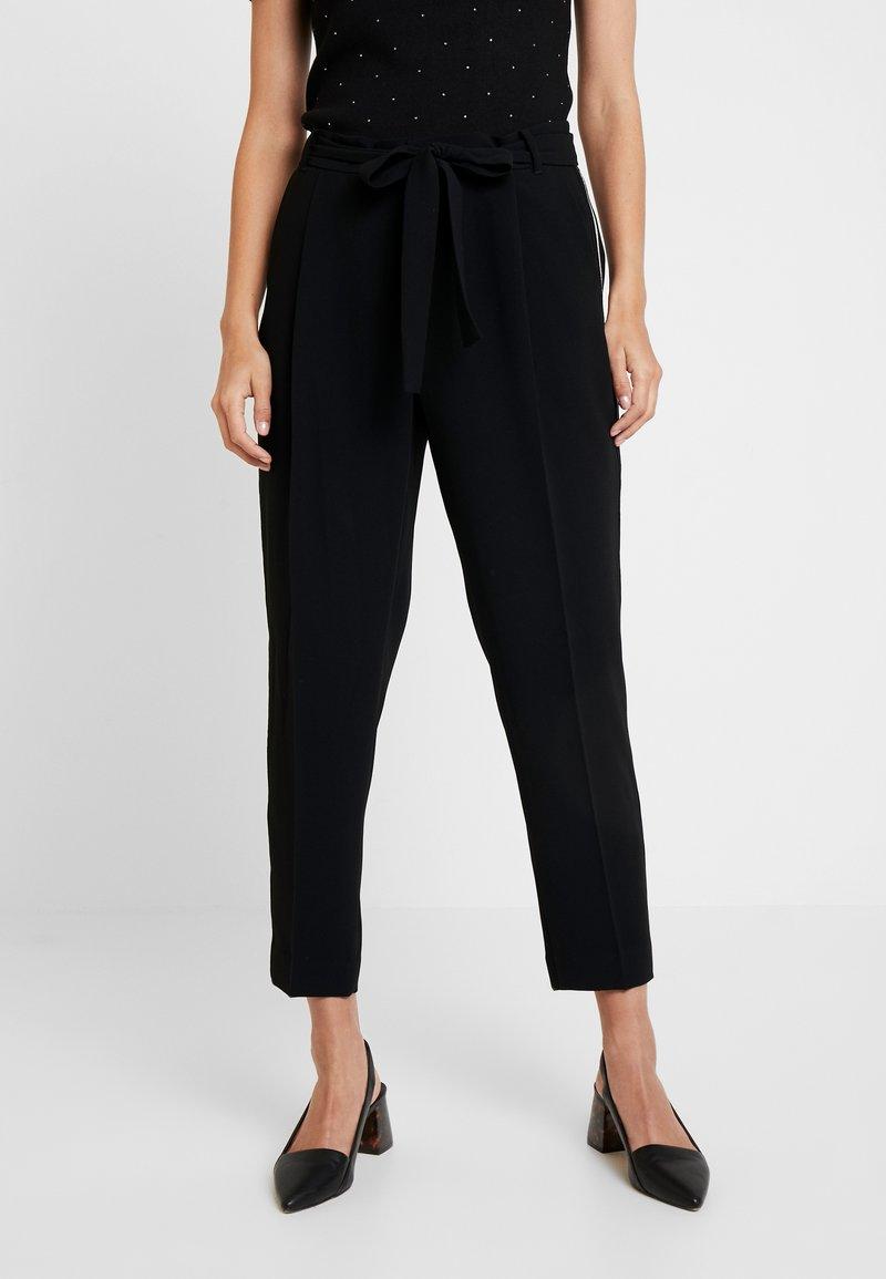 Taifun - Spodnie materiałowe - black