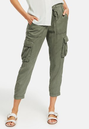 Cargo trousers - soft khaki