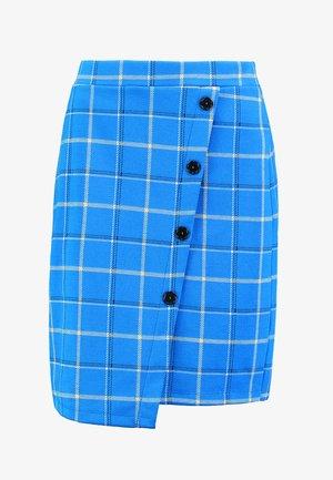 Pencil skirt - cobalt blue
