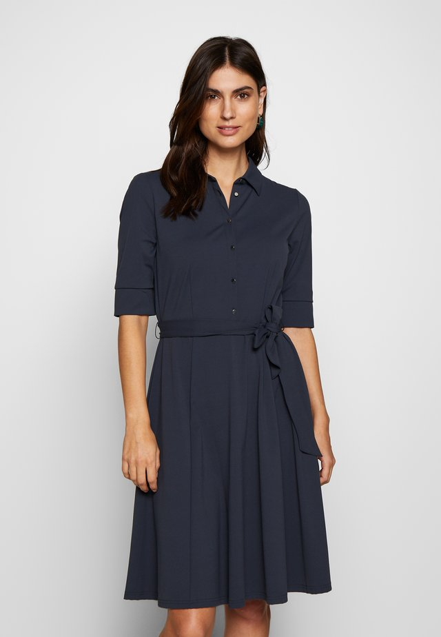 Shirt dress - blue shadow