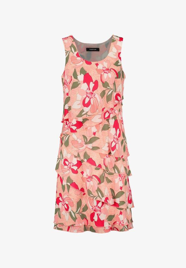 Korte jurk - apricot blush