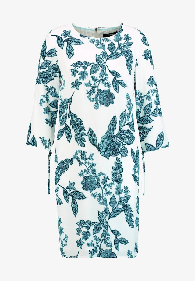 LANGARM MIT FLORAL PRINT - Day dress - offwhite