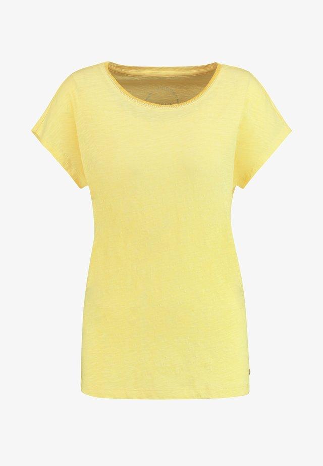 T-shirt basique - lemon sorbet