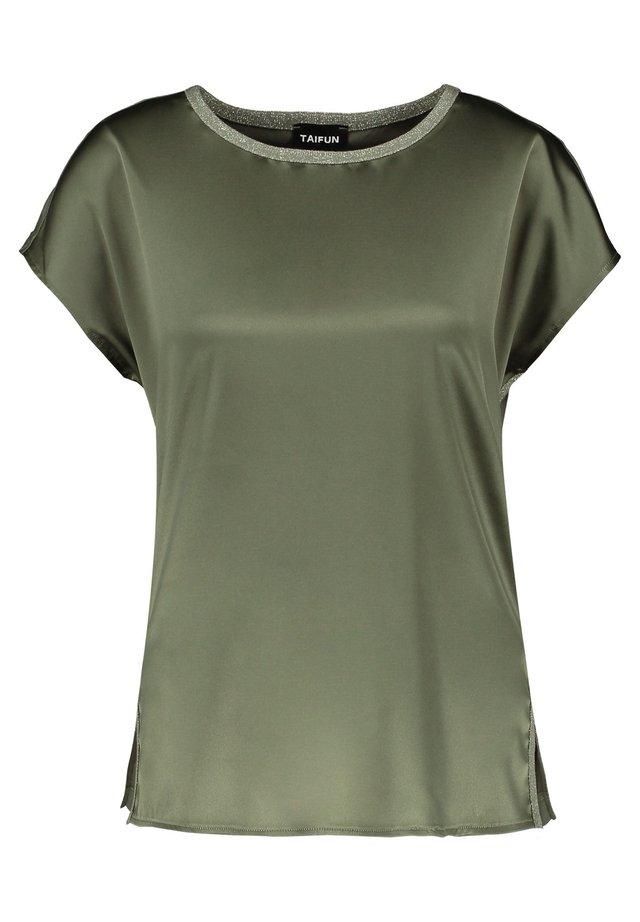 Bluse - soft khaki