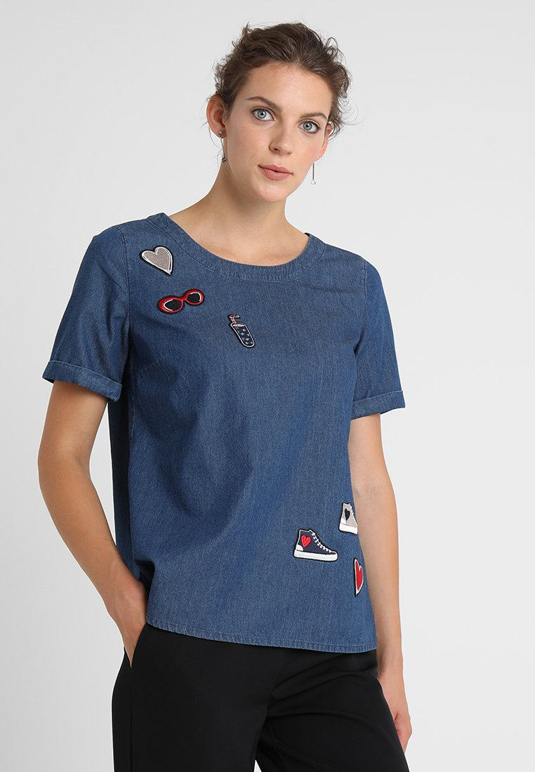 Taifun - Bluser - blue denim