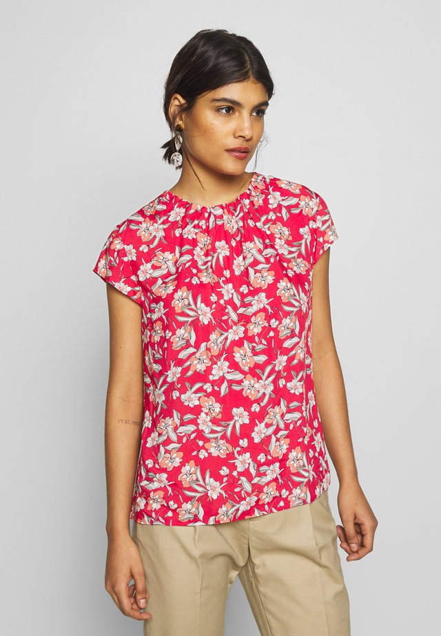 Blouse - paradise pink