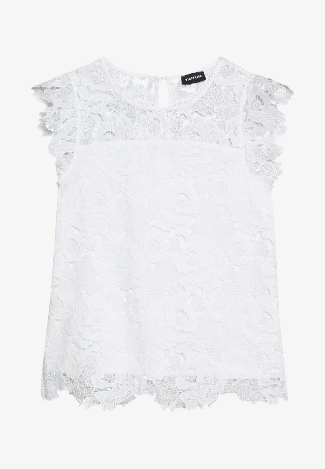 Bluse - offwhite