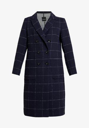 Płaszcz wełniany /Płaszcz klasyczny - navy