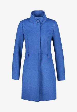 Classic coat - deep cobalt blue