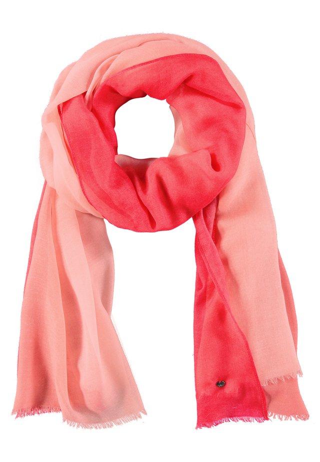 LEICHTER SCHAL - Schal - paradise pink gemustert
