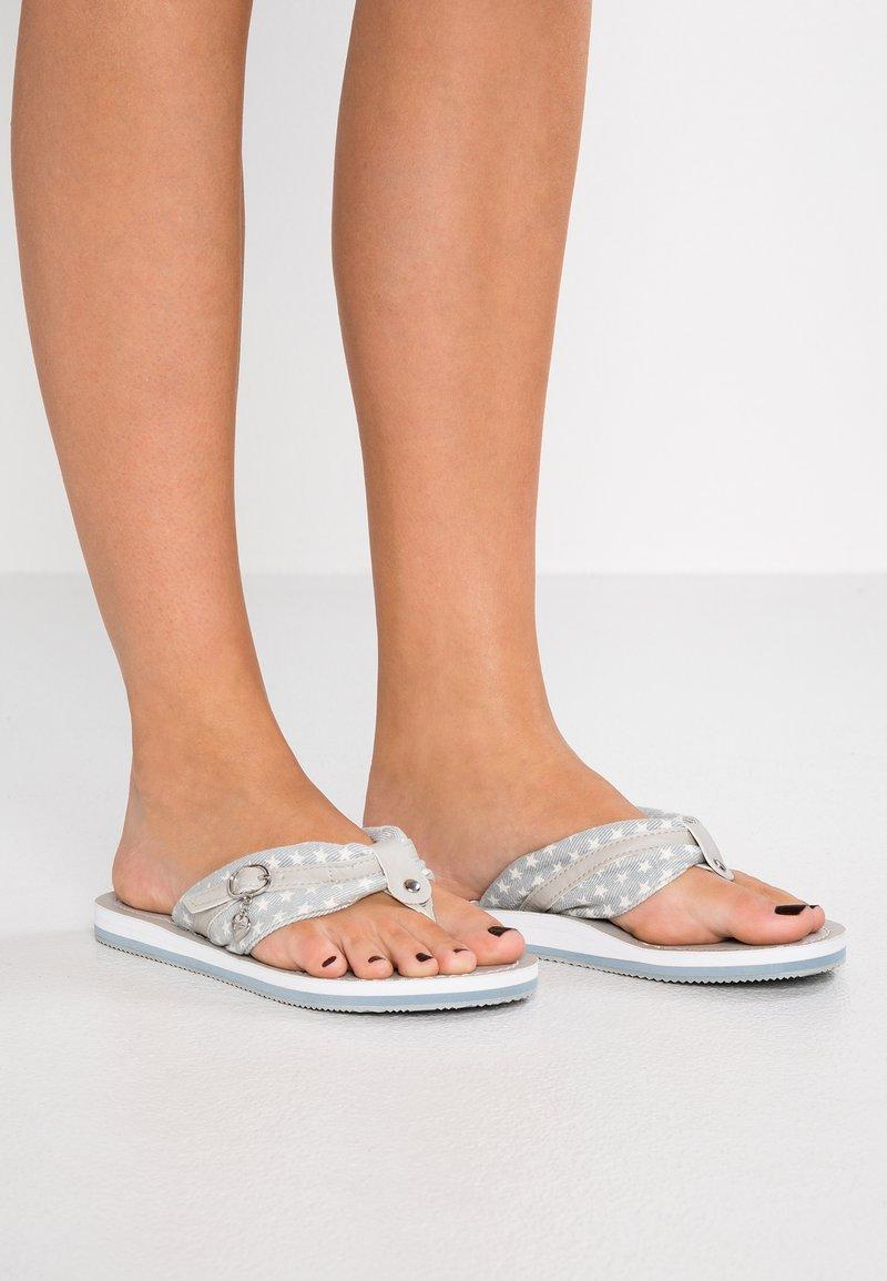 Tamaris - Sandalias de dedo - denim