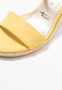 Tamaris - Wedge sandals - sun - 2
