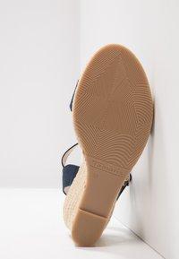 Tamaris - Wedge sandals - navy - 6