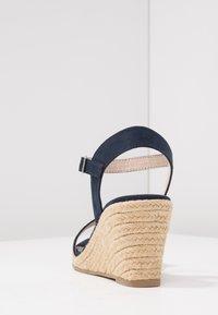 Tamaris - Wedge sandals - navy - 5