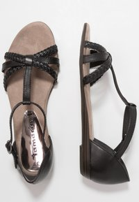 Tamaris - Sandals - black