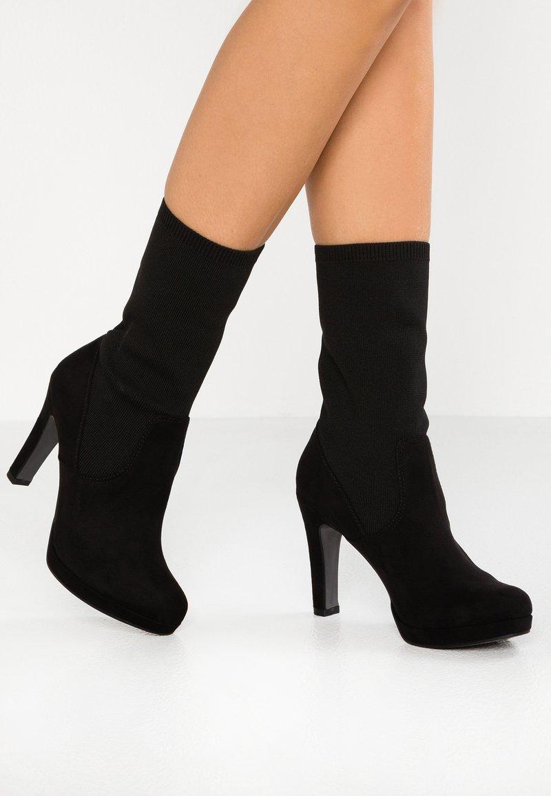 Tamaris - High heeled boots - black
