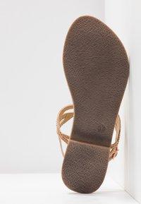 Tamaris - T-bar sandals - rose metallic - 6