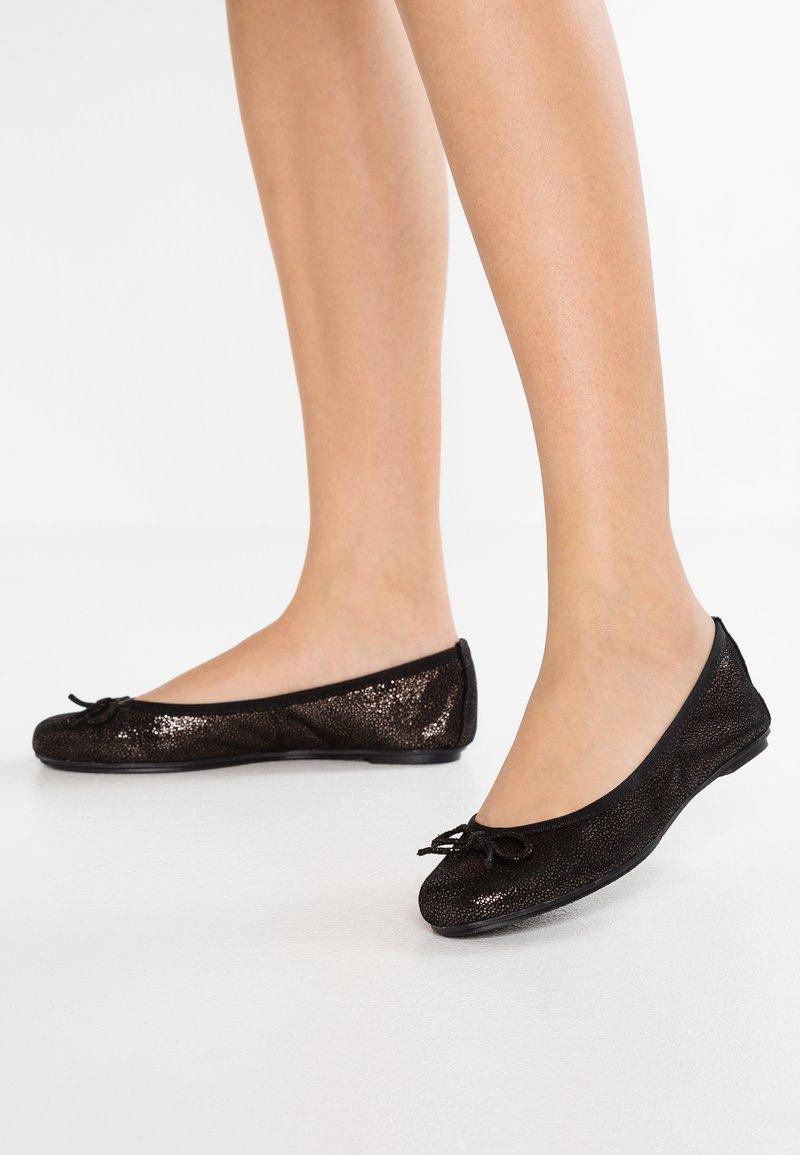 Tamaris - Ballet pumps - black metallic