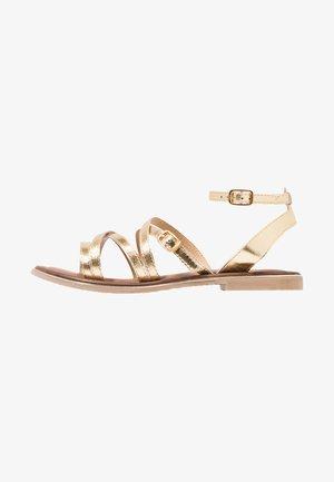 Sandály - light gold