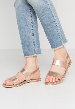 Sandály - rose metallic