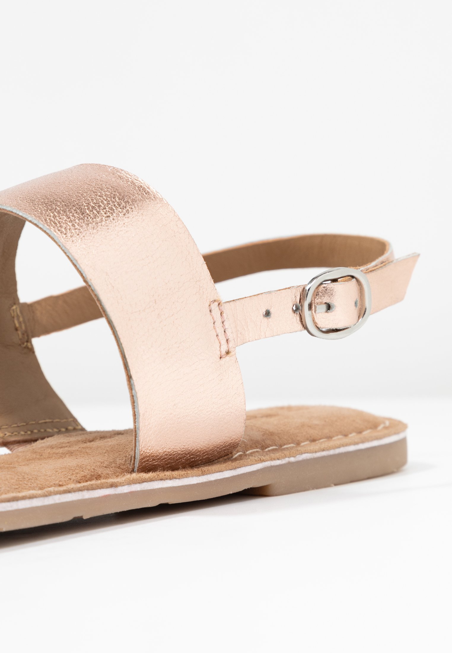 Sandalen rose metallic