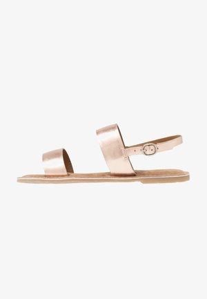 Sandaler - rose metallic
