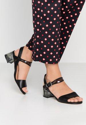 Sandals - black matt