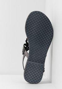 Tamaris - T-bar sandals - pewter - 6