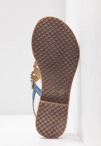 Tamaris - Sandály s odděleným palcem - azur - 6