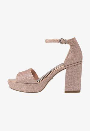 Korolliset sandaalit - rose glam