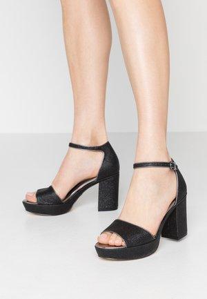 Sandalias de tacón - black glam