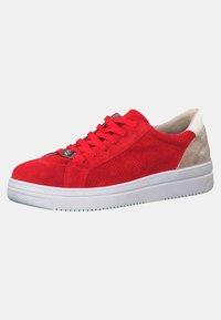 Tamaris - GRECA - Sneakers laag - red - 3