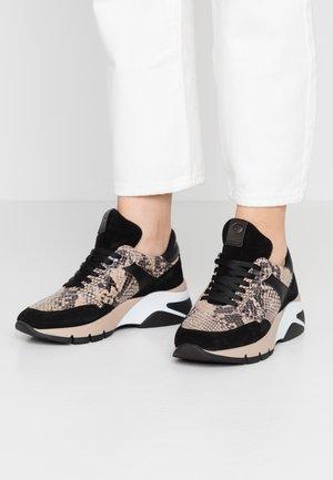 DA.-SCHNÜRER - Sneakers basse - beige