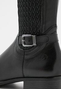 Tamaris - Vysoká obuv - black - 2