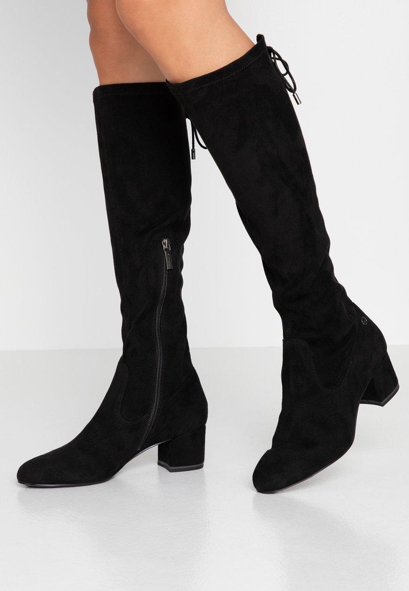 Tamaris - Høje støvler/ Støvler - black