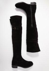 Tamaris - Kozačky nad kolena - black - 3