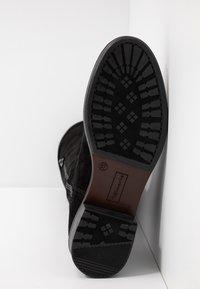 Tamaris - Kozačky nad kolena - black - 6