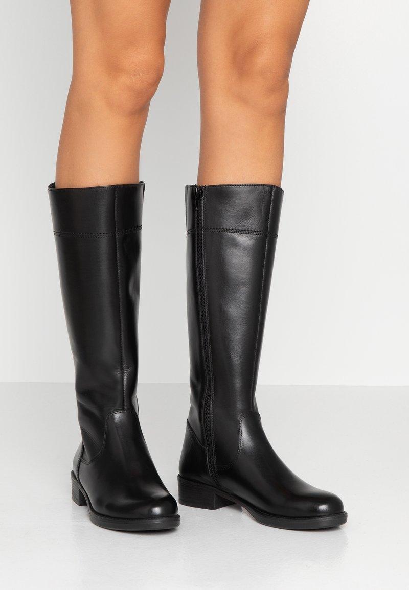 Tamaris - Vysoká obuv - black
