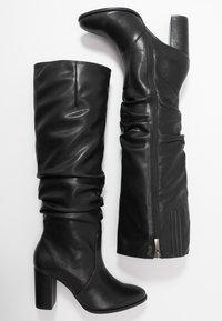 Tamaris - High heeled boots - black matt - 3