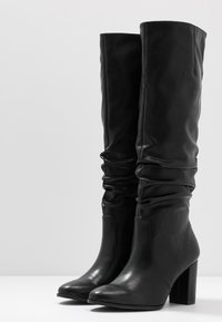 Tamaris - High heeled boots - black matt - 4