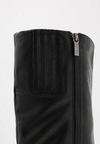 Tamaris - High heeled boots - black matt - 2