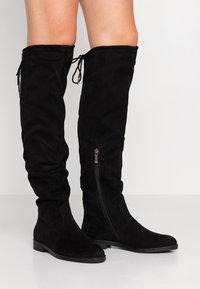 Tamaris - Høye støvler - black - 0