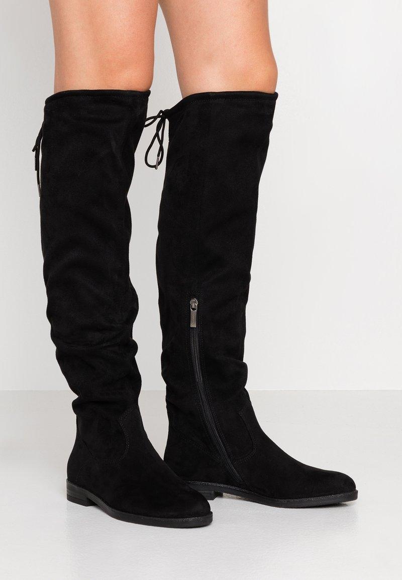 Tamaris - Høye støvler - black