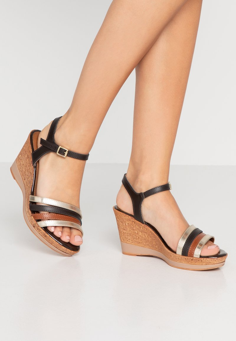 Tamaris - High Heel Sandalette - mocca