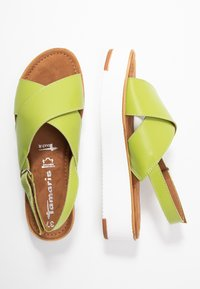 Tamaris - Plateausandalette - green - 3